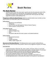 How To Write A Good Book Review Book Review The Book Review O Although A Book Review Like