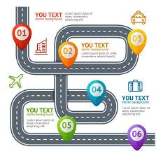 Traffic Road Infographic Template Vector 03 Free Download