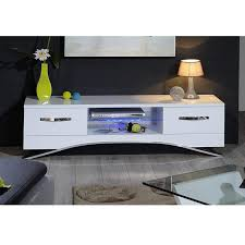 Image Living Room Furniture123 Sciae Smooth Modern Tv Unit Stand With Drawers White Gloss