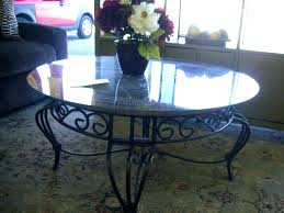wrought iron and glass coffee table wrought iron and glass coffee table wrought iron side table