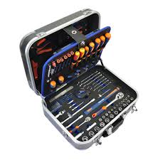 Les valises à outils faites en acier inoxydable, sont quant à elles, conçues pour une durée de vie pratiquement infinie. Coffret D Outils De Mecanicien 141 Pieces Dexter Leroy Merlin