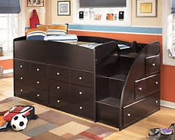 kids bunk bed with storage. Large Embrace Kids Loft Storage Bed With Right Steps, , Rollover Bunk E