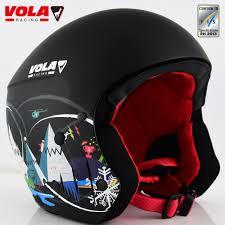 Design Ski Helmet Us 135 0 10 Off Vola 2017 New Design Adult Fis Ski Helmet Ce Astm Certificate Integrally Molded With Google Retainer Removable Comfotable Padd In