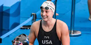 "Katie Ledecky: ""Olympia 2028 ist ..."