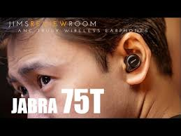 <b>Jabra Elite 75t</b> Truly Wireless Earphone - REVIEW - YouTube