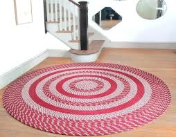 round braided rugs the large cotton square and home rag area rug woven 3 foot for