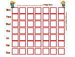 Printable Potty Training Chart Minnie Mouse Potty Training Charts With Your Favorite Characters