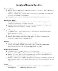 Generic Resume Objective Awesome 1710 Generic Resume Objective Best Of Good Examples Resume Objectives