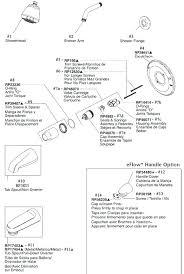 delta shower replacement parts delta shower faucet