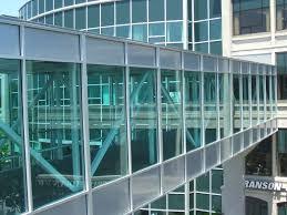 Transparent Aluminium Transparent Toughened Tempered Glass Wall Panels 8mm 10mm 12mm