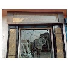 glass office front door. Office Front Aluminium Glass Door