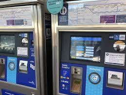 Compass Vending Machine Vancouver Mesmerizing Moody Centre Station Public Transportation 48 Williams Street