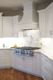 Kitchen Hood Designs Ideas White Shaker Cabinets Decorative Range Hood Inset Cabinet