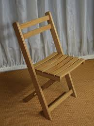 wooden folding chair hire