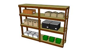 garage shelving plans myoutdoorplans free woodworking plans and projects diy shed wooden playhouse pergola bbq