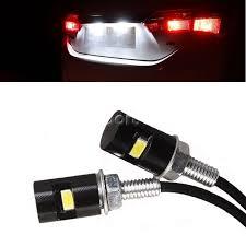 <b>4pcs</b> Universal <b>Motorcycle Car</b> White 5630 SMD LED License Plate ...