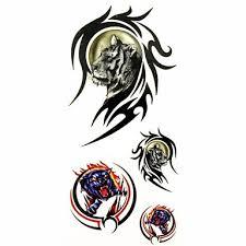 1ks Tygr V Totem Zvíře Vodotěsný Tetování Ukázka Formy Dočasné