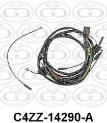 ford wiring 57 72 car list cg ford parts headlight wiring harness