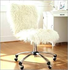 diy desk chair desk chair white fuzzy desk chair a a guide on it throw a fuzzy