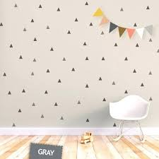 baby nursery wall decals baby nursery room new stickers for luxury triangle decal removable kids