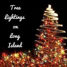 Tree Lightings on Long Island