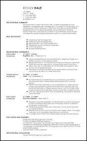 Pest Control Resume Sample