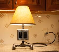 it s pretty easy to build a pipe lamp you only need a few basic tools and a pipe wrench