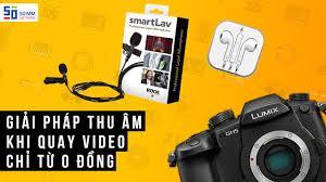 Các loại micro THU ÂM dành cho người làm video - YouTube