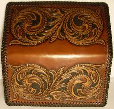 western leather checkbook covers leather sheridan western design checkbook cover