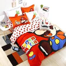 super mario bros bedding super bros bedding set bed set cartoon super brothers children room decoration