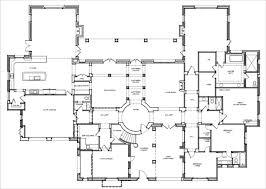 One Story 40X50 Floor Plan   Home Builders  Single Story Luxury Custom Home Floor Plans