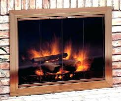 wood stove door glass burning fireplace doors full size replacement for gasket do