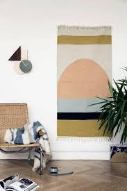 rug wall hanging. (image credit: ferm living) rug wall hanging