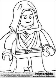 Small Picture Lego Star Wars Lightsaber Yoda Coloring Page For a Star Wars