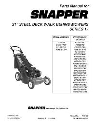 snapper lawn mower parts. snapper 216517b. 216517b lawn mower parts