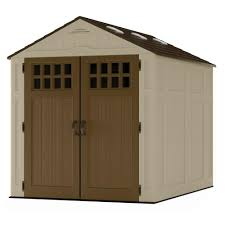 Suncast Everett 6 Ft 2 75 In X 8 Ft 1 75 In Resin Storage Shed