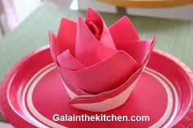 Paper Napkin Folding Flower How To Fold Paper Napkin Fancy Way 6 Techniques Elianas