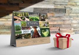 Etuval Home Collection 2021 Desk Calendar