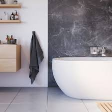 Bob helps install cultured marble panels in a bathroom. Showerwall Hpl Marble Collection Wall Panels Uk Bathrooms