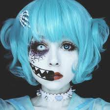 anzujaamu creepy cute make up