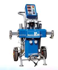 portable painting machine polyurethane high pressure spray equipment