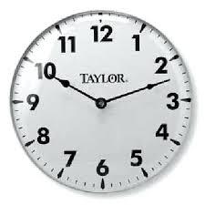 18 inch wall clock clocks inch white og wall clock la crosse technology 18 atomic outdoor