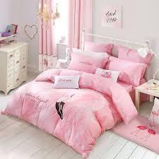 pink bedding bedroom