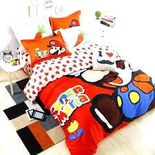 super mario sheet set bed set super bedding set bed set super bedding set duvet cover