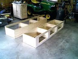 storage bed plans. Delighful Plans Full Size Platform Bed Plans Storage Stupendous Build  Frame In Storage Bed Plans