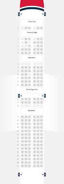 Boeing 787 8 Dreamliner Seating Chart Seat Maps Norwegian
