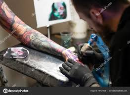 Saint Petersburg Russia 2018 16th Tattoo Festival Illustrative