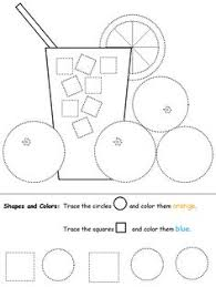 49e8a864f29fbfbe193c58161fe74da3 preschool shapes pink lemonade the shapes free printable activity to write and learn their on spanish math worksheets