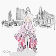 Kelly Smith Fashion Beauty Pencil And Graphic Design Illustrator