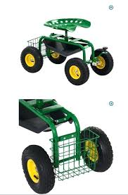 rolling garden scooter garden pads and seats yard cart rolling garden work tractor seat garden scooter
